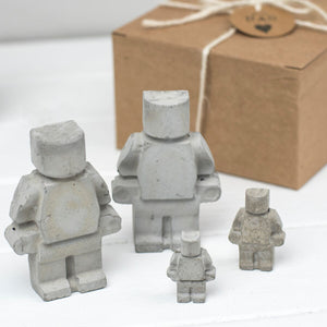 Concrete Family Gift Set