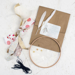 White Make Your Own Dream Catcher