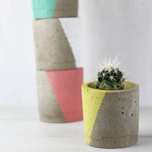 Concrete Geo Planter