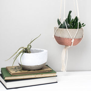 Concrete Bowl Pot