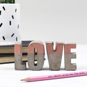 Concrete Love Letters