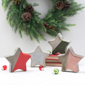 Copper Concrete Star – Star Decoration