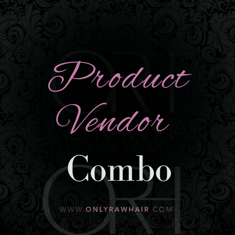 Hair Products Vendors Combo