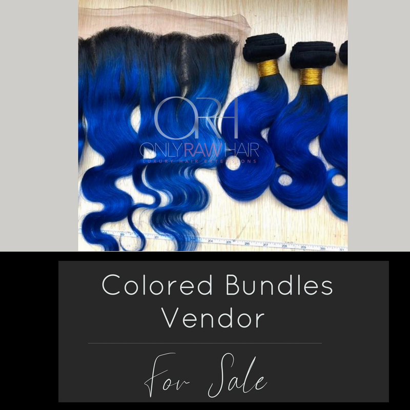 Colored Bundle Vendor