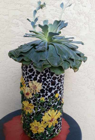 Animal print with sunflower SRE