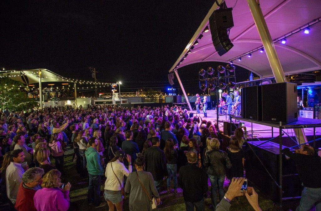 Container Park stage