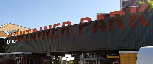 Container Park Sign