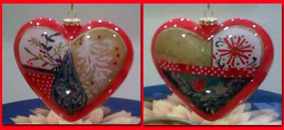 Li Bien Heart ornament