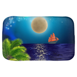 Supermoon Bath Mat