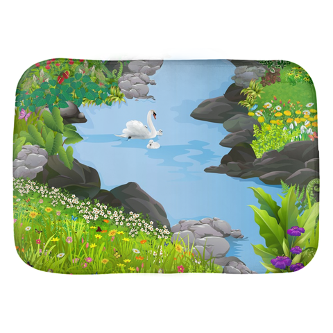 Swan Lake Bath Mat