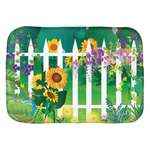 Picket Fence Bath Mats