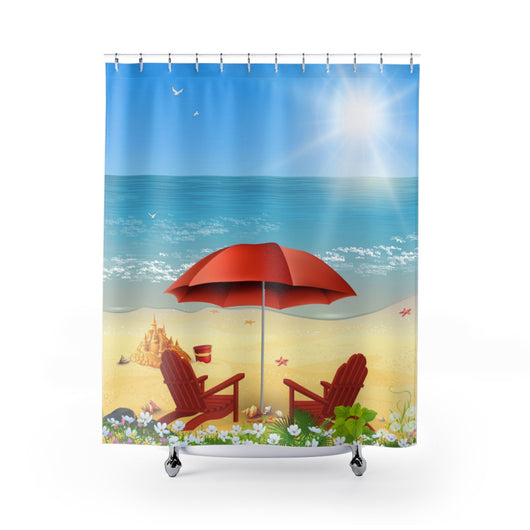 Beach Moments Shower Curtain