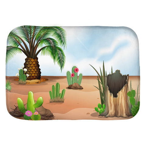 The Palm Bath Mat