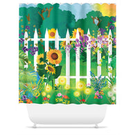 Spring Garden Shower Curtain