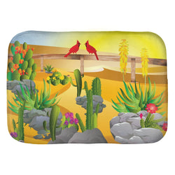 Prickly Pear Bath Mat