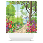 Forever Blooming Shower Curtain
