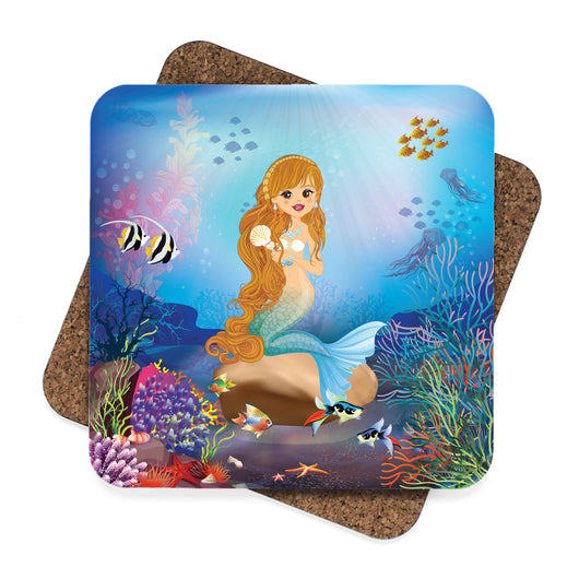 Mermaid Under The Sea  Coasters