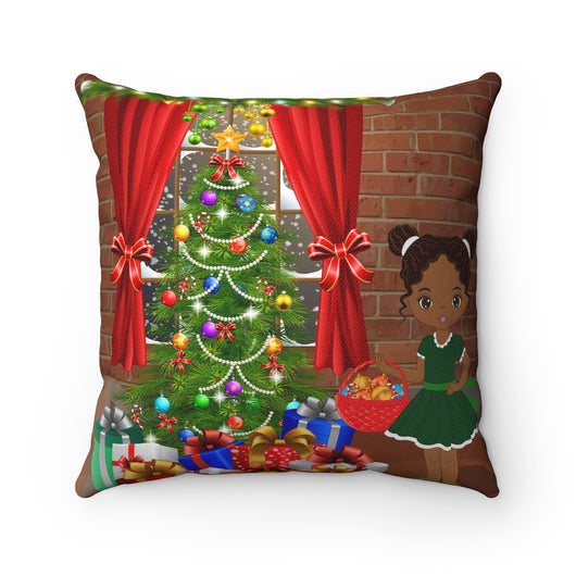 Trim-A-Tree Outdoor Christmas Pillow