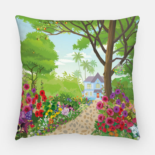 Forever Blooming Out Door Pillow
