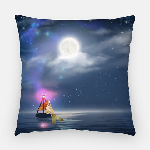 Mermaid Outdoor Pillow