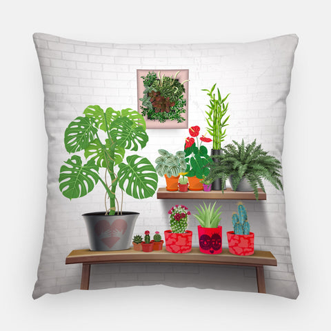 The Plant Shelfie Pillow
