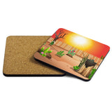 The Sun is Shining Coasters