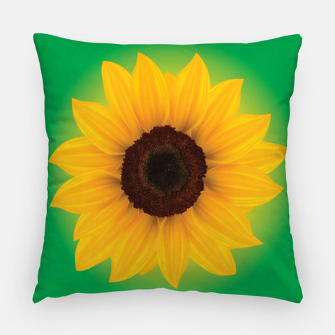 Sunflower Outdoor Pillow