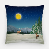 Supermoon Out Door Pillow