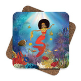 Afro Mermaid Coasters