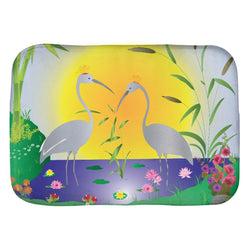 The Cranes Bath Mat