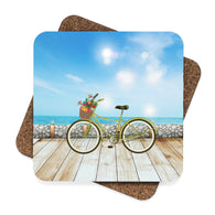 Bicycle by the Beach Coaster Set