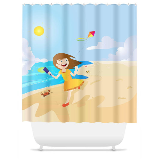 Fly Girl Shower Curtain