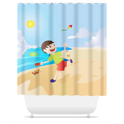 Fly Boy Shower Curtain