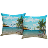Dolphins Outdoor Pillow