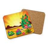 Prickly Pear Garden Coaster Set