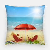 Beach Moments Outdoor Pillow