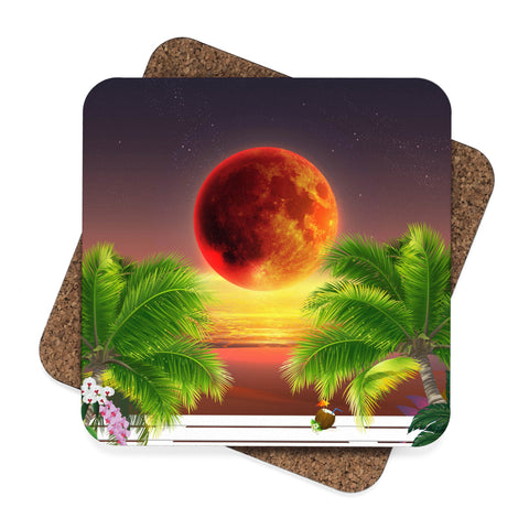 Red Moon Coasters