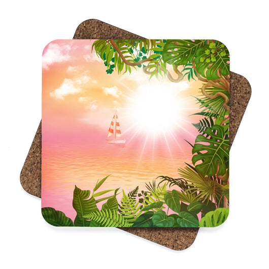 Tropical Coaster Set