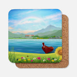 Canoeing Coaster Set