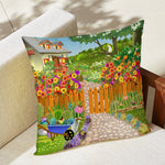 Perpetual Spring Outdoor Pillow