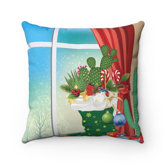 Stocking Stuffer Outdoor Christmas Pillow