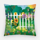 Spring Garden Outdoor Pillow