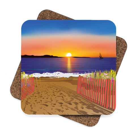 Sunrise, Sunset Coaster Set