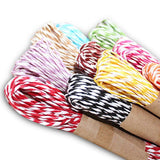 Raffia Stripes Paper String For DIY Making,120 Yards (12 Colors) - G2plus