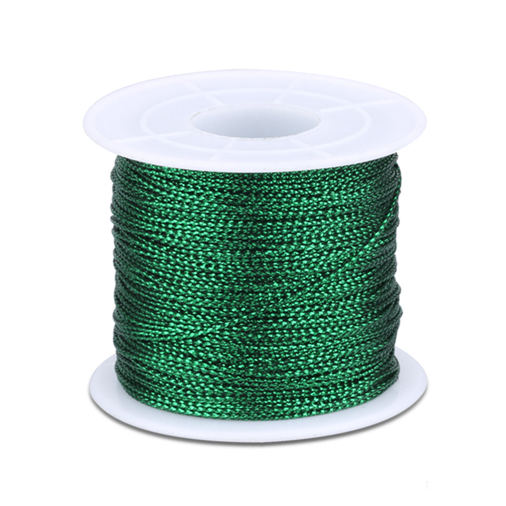 100M Metallic Cord Jewelry Thread Craft String Lift Cord for Wrapping,Braiding and Craft Makin - G2plus