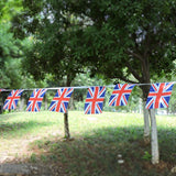 G2PLUS UK England Flag Bunting, British Flag Banner Pennant, The Great Britain Nation Flag 11 Meter with 40 Pendants - G2plus