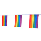 "31Feet Rainbow Flag LGBT Pride Flag String,5.5"" X 8.2"" Human Rights Gay Men & Women Pride Flag Banner for Indoor/Outdoor  Decorations - G2plus"