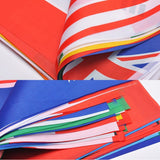 82 Feet 8.2'' x 5.5'' International String Flag Banners 100 Country Flag Pennants for Bar Party Events Decorations (Random Country - GG58004) - G2plus