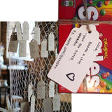 G2PLUS 100 PCS Kraft Gift Tags 5 cm * 10 cm Blank Label Paper Wedding Labels Birthday Luggage Tags Brown Hang Tag with 30 Meters Jute Twine - G2plus