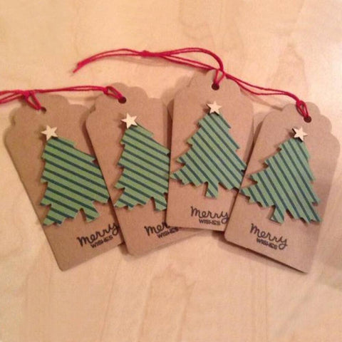 10x Space Invaders Gift Tags Space Invaders Gift Tags Rectangle Paper Card DIY Label Luggage Birthday Christmas Wedding with Natural Jute Twine String Choose Quantity